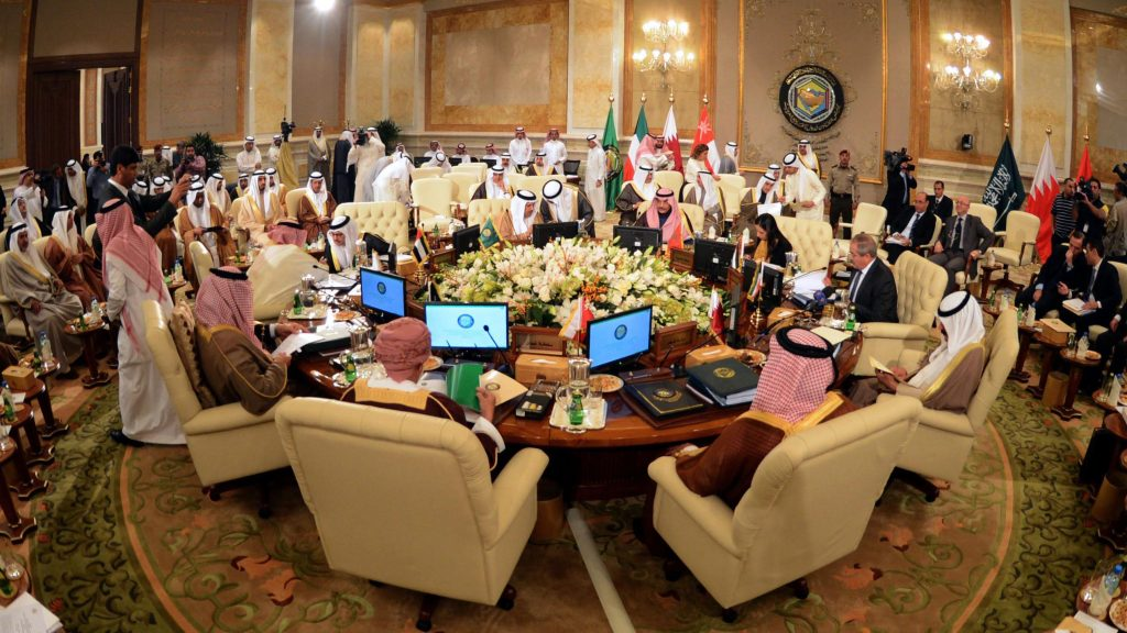 Alaq heads the joint strategic dialogue committee with the GCC countries 644