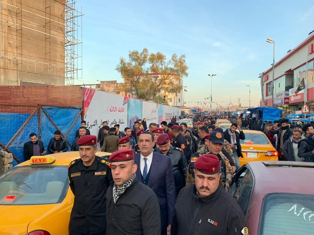 """راكان الجبوري وعبدالوهاب الساعدي يطمئنان سكان كركوك """"صور"""""""