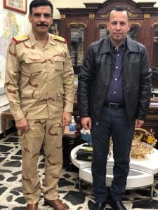 """اليار الله في مقابلة مع """"ناس"""": هذه حدود عقيدة الجيش العراقي.. ويجب ألا نخسر التحالف الدولي"""