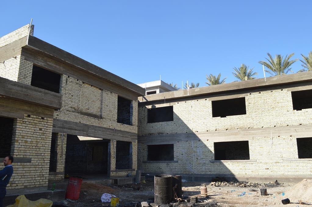 متبرع يتولى تمويل انشاء مدرستين في ديالى (صور)