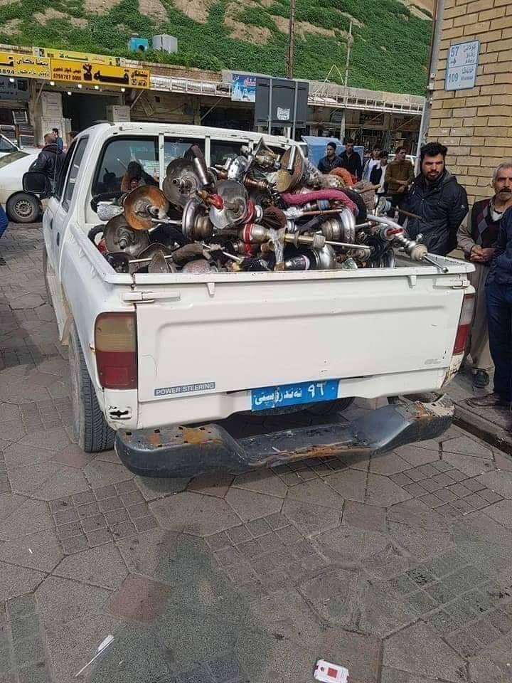 صور.. حملة في اقليم كردستان لمكافحة الأراكيل