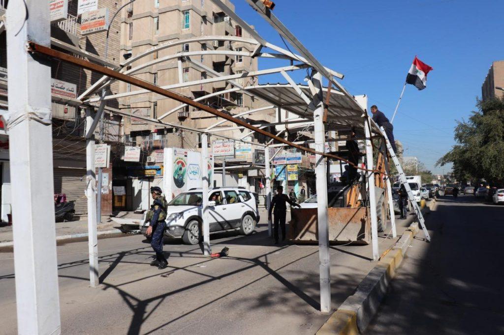 هل رفعت عمليات بغداد سيطرة الكرادة.. ام قدمتها لامتار فقط!