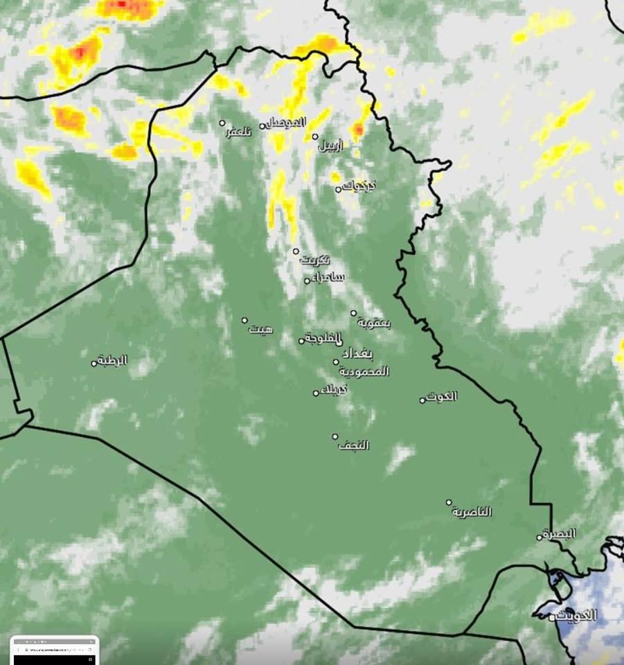 طقس العراق: رياح وامطار غزيرة في هذه المحافظات