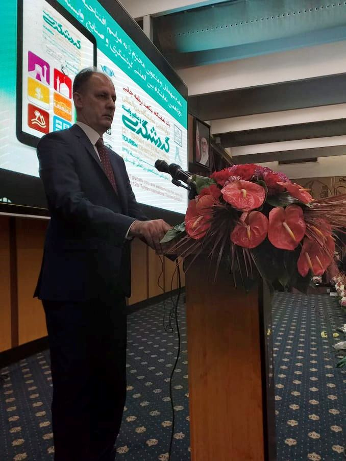 """وزير الثقافة العراقي يطلق من طهران مبادرة لتشكيل """"تحالف ثقافي"""" يضم عدة دول"""