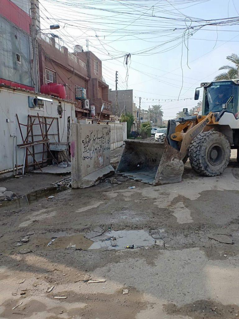 امانة بغداد تفتتح 13 زقاقاً مغلقاً منذ 10 سنوات في الشعب