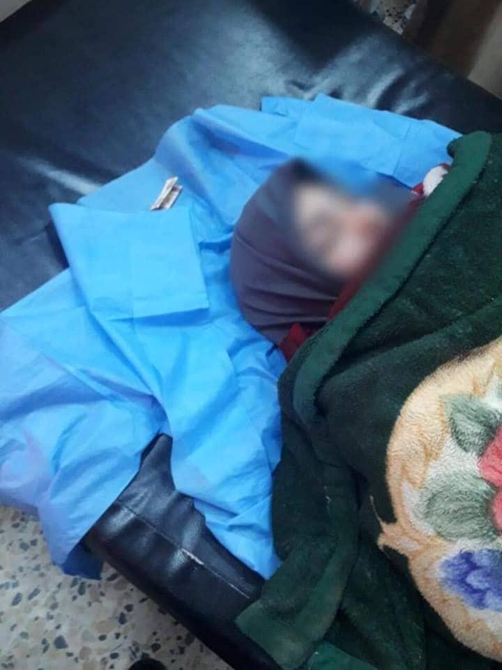 صور: غواصو الداخلية ينقذون امراة حاولت الانتحار رفقة طفليها في بغداد