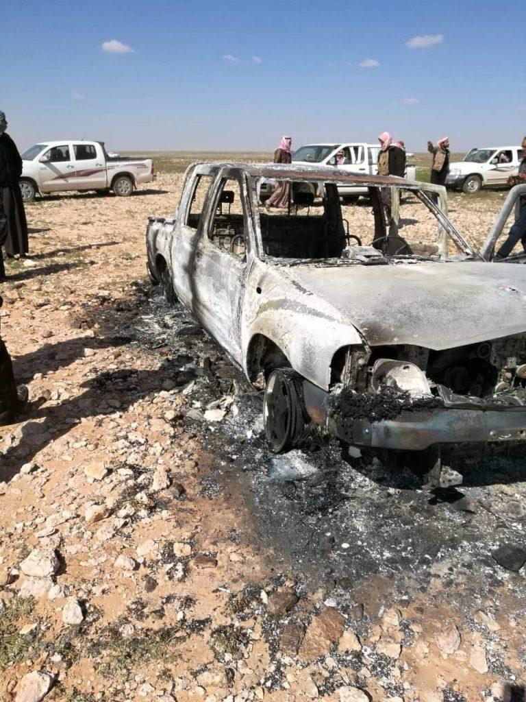 داعش الارهابي يعلن اسر واعدام اربعة من الحشد العشائري في النخيب