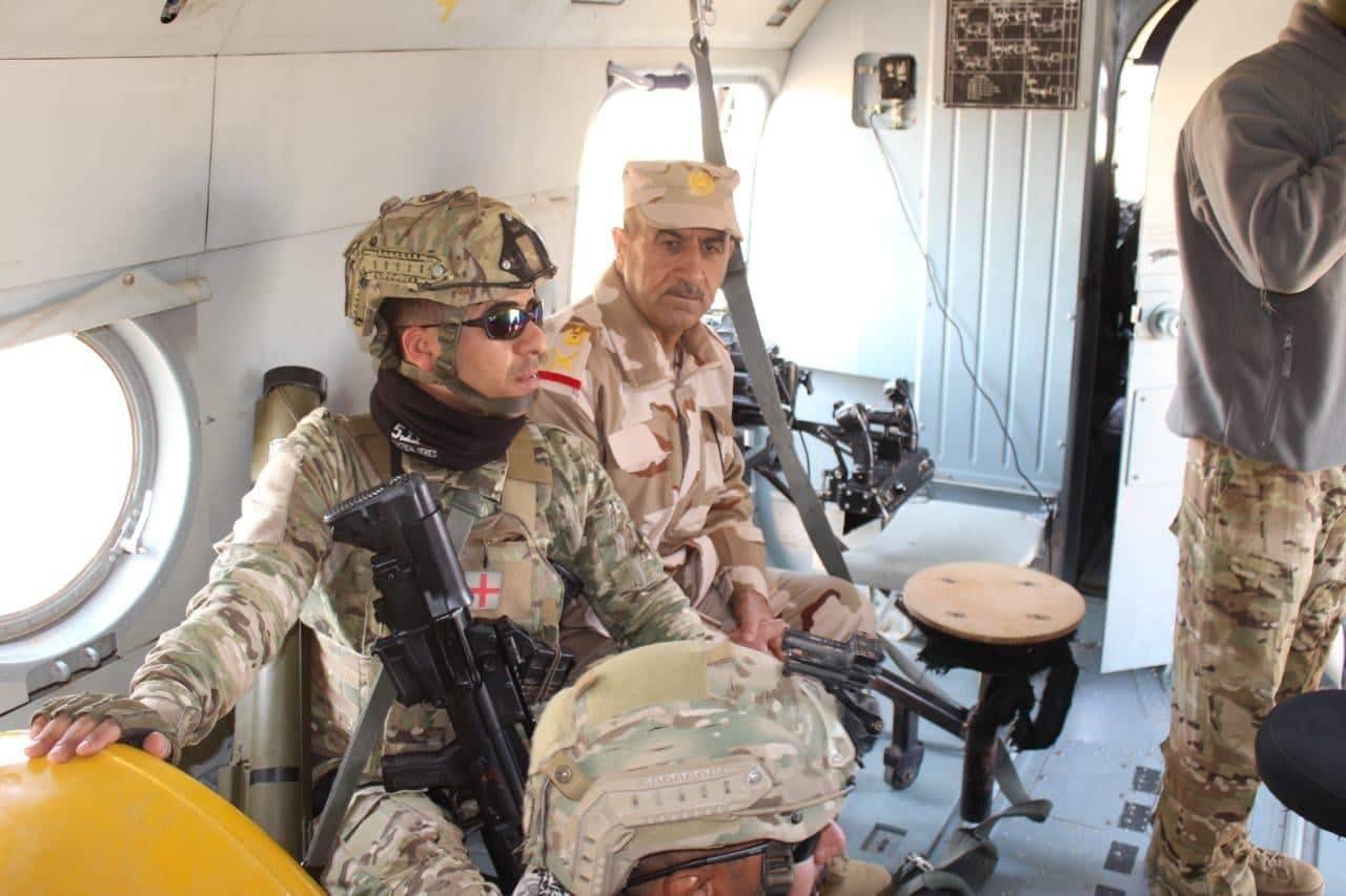 صور: الفرقة التكتيكية تعتقل 4 اشخاص متورطين بحادثة النخيب في صحراء الانبار