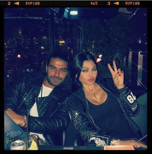 صور: هيفاء وهبي مع حبيبها تشعل التواصل الاجتماعي