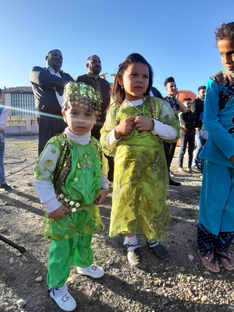 صور: عائلات الأنبار تشارك إقليم كردستان احتفالات نوروز