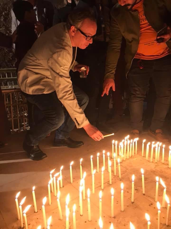 صور: أحزانُ الموصل ترافق احتفالات مهرجان بابل للثقافات
