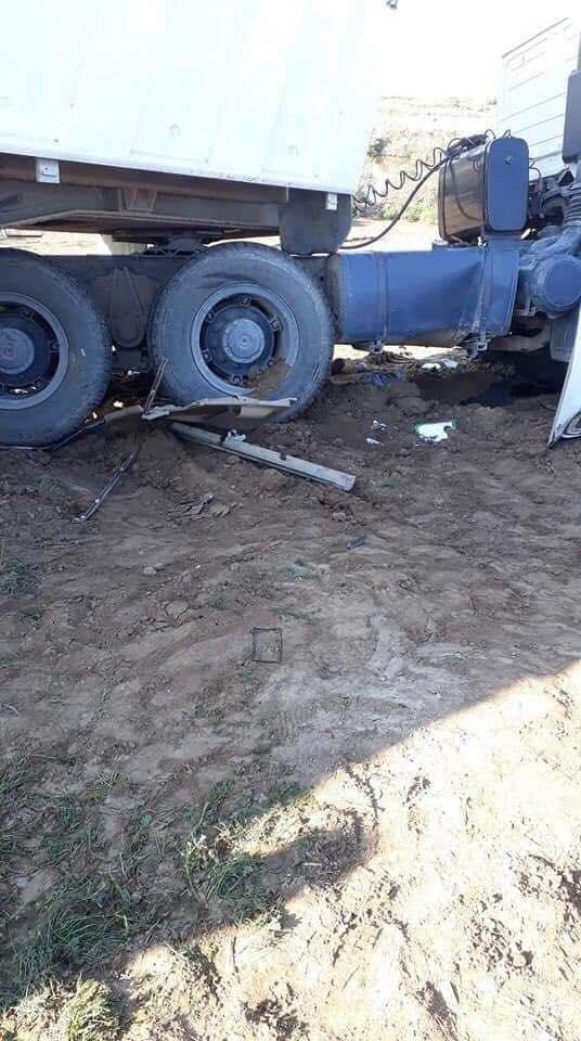 "صور: حادث سير ""مرعب"" في واسط"