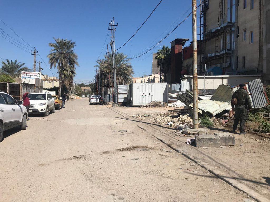 """صور: افتتاح شارع """"حيوي"""" في منطقة المنصور مغلق منذ 15 عاماً"""