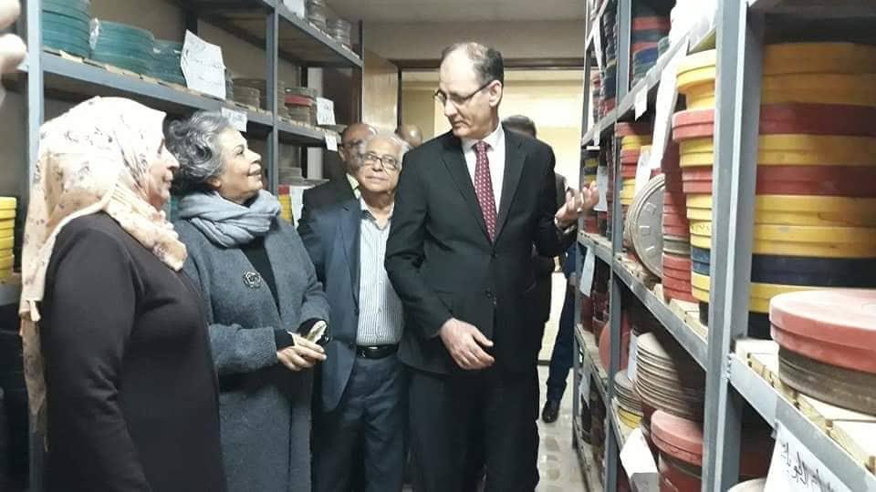 عملية سرية لنقل الأرشيف السينمائي العراقي من المسرح الوطني إلى المنطقة الخضراء