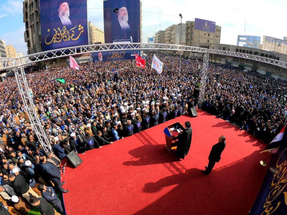 جمعة مزدحمة في بغداد: 3 جهات تقاسمت مركز المدينة !