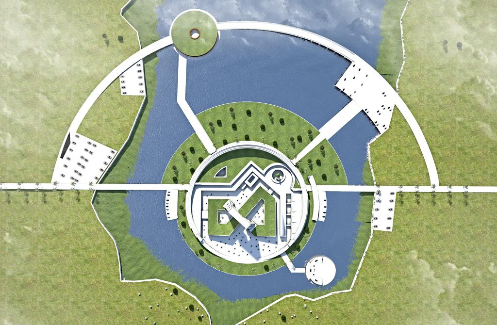 """بكلفة لا تتجاوز 20 مليون دولار: تصميم """"مدينة أحلام"""" على شواطئ بحيرة ساوه (صور)"""