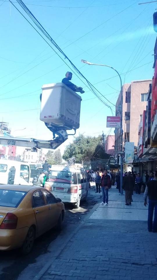 صور.. وجه جديد لشارع الداخل: البلدية تعلن الكرادة منطقة خالية من البسطيات