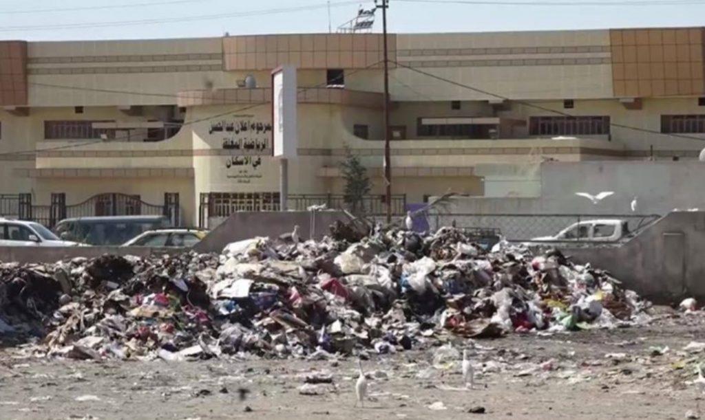 بيئة الديوانية تقاضي البلدية بسبب تحويل مرآب إلى مكب نفايات (صور)