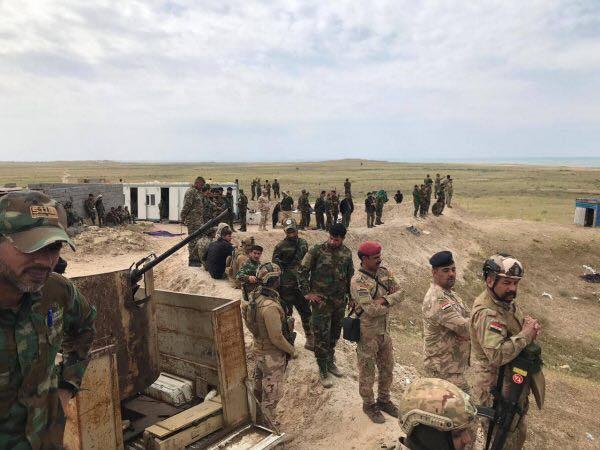 على ضفاف الثرثار: عملية برية وجوية مشتركة للجيش والحشد (صور)