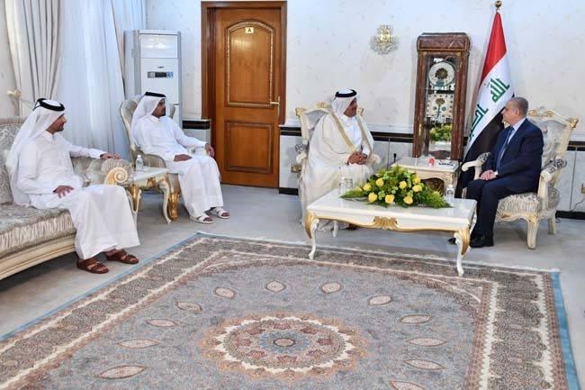 بالتزامن مع الحراك السعودي: السفير القطري يقدم أوراق اعتماده إلى بغداد (صور وفيديو)