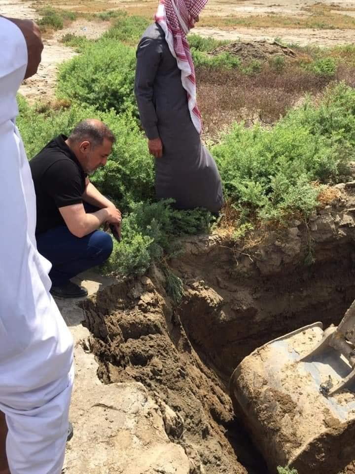 صور: المثنى تعلن العثور على مقبرة جماعية للكرد من ضحايا النظام السابق