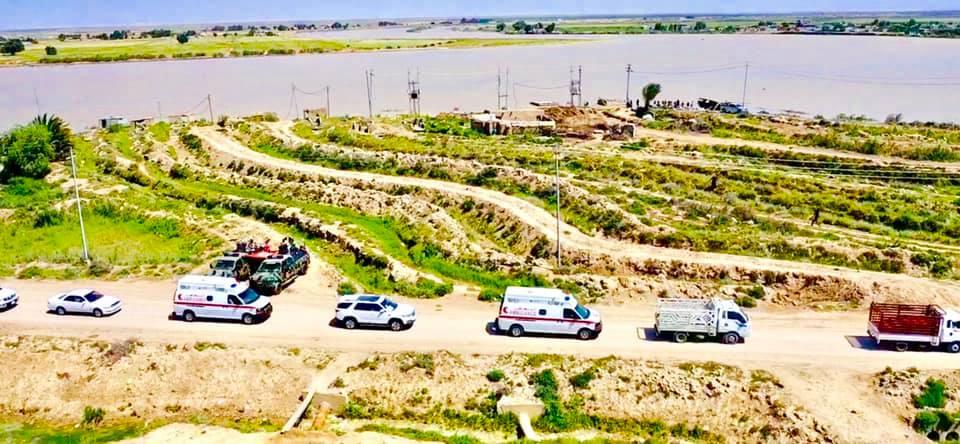 صور: محافظ واسط يعلن نجاح خطة السيطرة على السيول في 18 منطقة ويشكر المشاركين