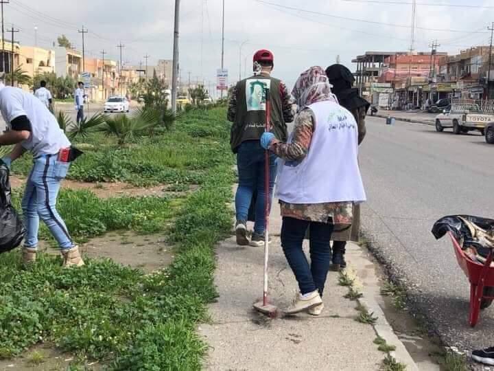 بدينا .. حملة واسعة لتنظيف الموصل (صور)