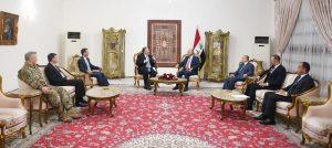 """رئيس الجمهورية يؤكد أهمية """"الشراكة الستراتيجية مع الولايات المتحدة"""""""
