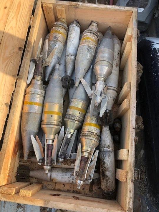 احتوى على صواريخ طائرة.. العثور على كدس عتاد في احدى مناطق كركوك