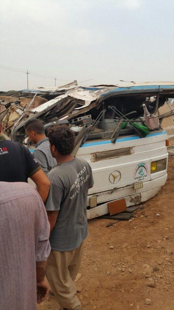مصرع وإصابة 32 منتسباً في الحشد الشعبي (صور)