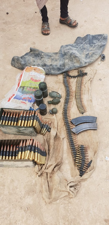 """صور: الاستخبارات العسكرية تطيح بشبكة لـ """"داعش"""" شمالي البلاد"""