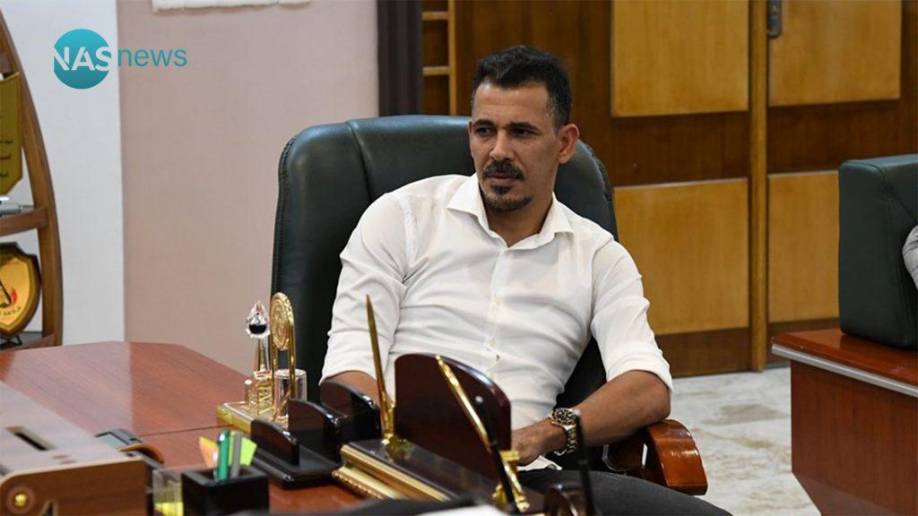 صور: ماذا يفعل يونس محمود في شركة تعبئة الغاز؟!