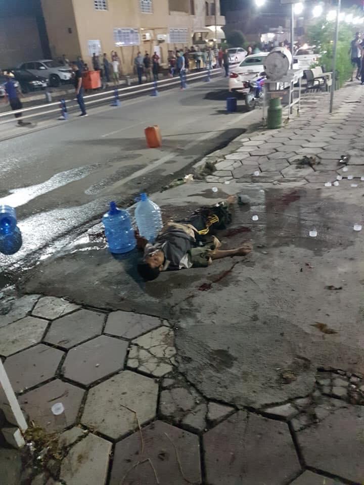 الحصيلة الأولية لتفجير مقهى شعبية شرق ديالى (صور)