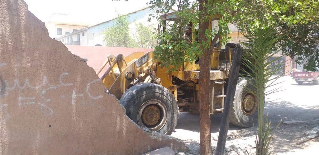 صور: فتح شارع الأقسام الداخلية المغلق منذ 2006 في باب المعظم