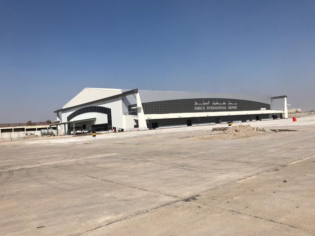 وصل إلى مراحل متقدمة.. مطار كركوك الدولي بحُلّة جديدة (صور)