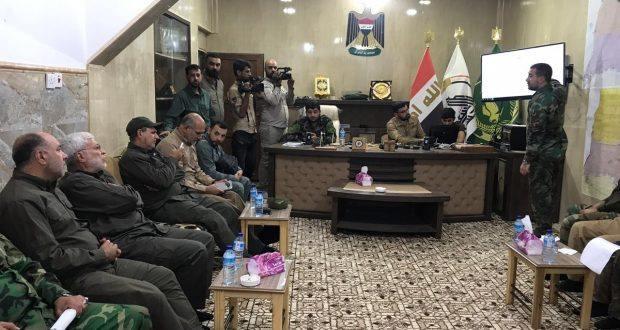 في ذكرى تحريرها.. أبو مهدي المهندس يصل إلى نينوى (صور)