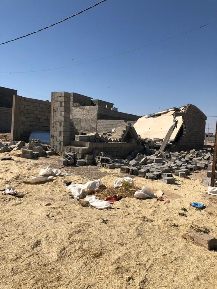 استخبارات الحشد تكشف ملابسات تفجير بيت في كركوك