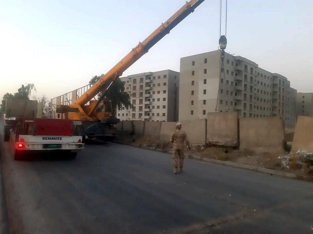 صور: شارع حيوي بمنطقة المنصور في بغداد يتحرّر من كتل الكونكريت