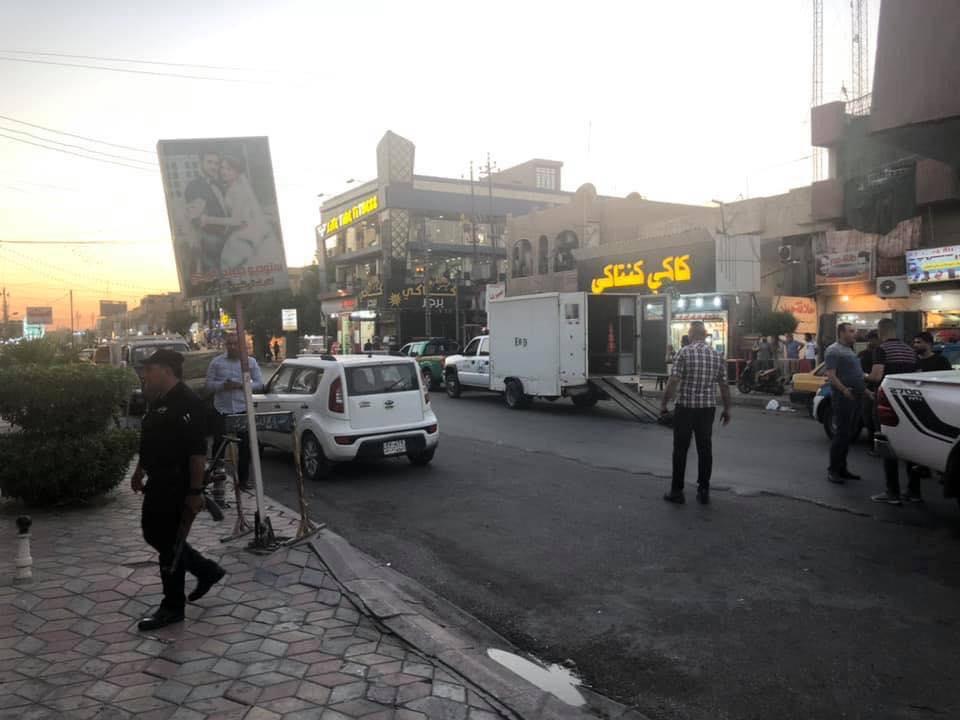 ضبط عجلة مفخخة وتفكيكها في منطقة النعيرية (صور)