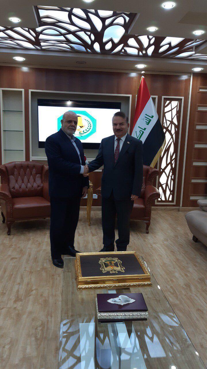 """وزير الداخلية الجديد يبحث مع سفير إيران في بغداد تفعيل """"موضوعات مشتركة"""""""