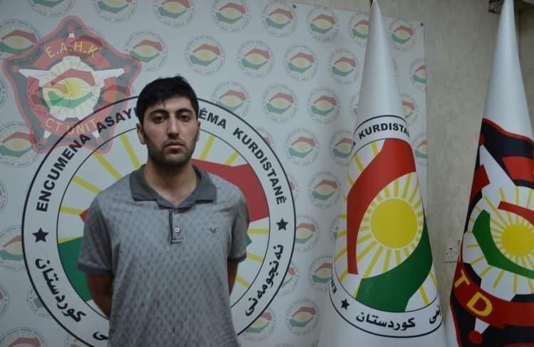 اعتقال منفذ الهجوم على الفريق الدبلوماسي التركي في أربيل (صور)
