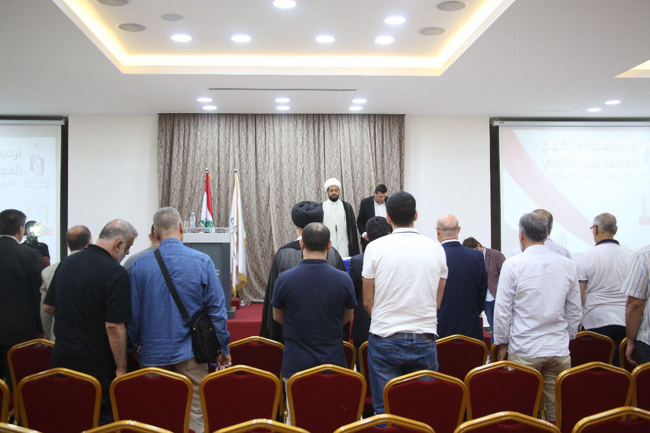"""صور: قيس الخزعلي في لبنان لبحث """"العلاقة بين محور المقاومة والحشد الشعبي"""""""