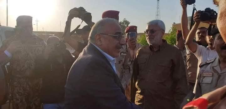 إطلاق المرحلة الثالثة من عمليات إرادة النصر في ديالى .. وعبدالمهدي يصل إلى المحافظة