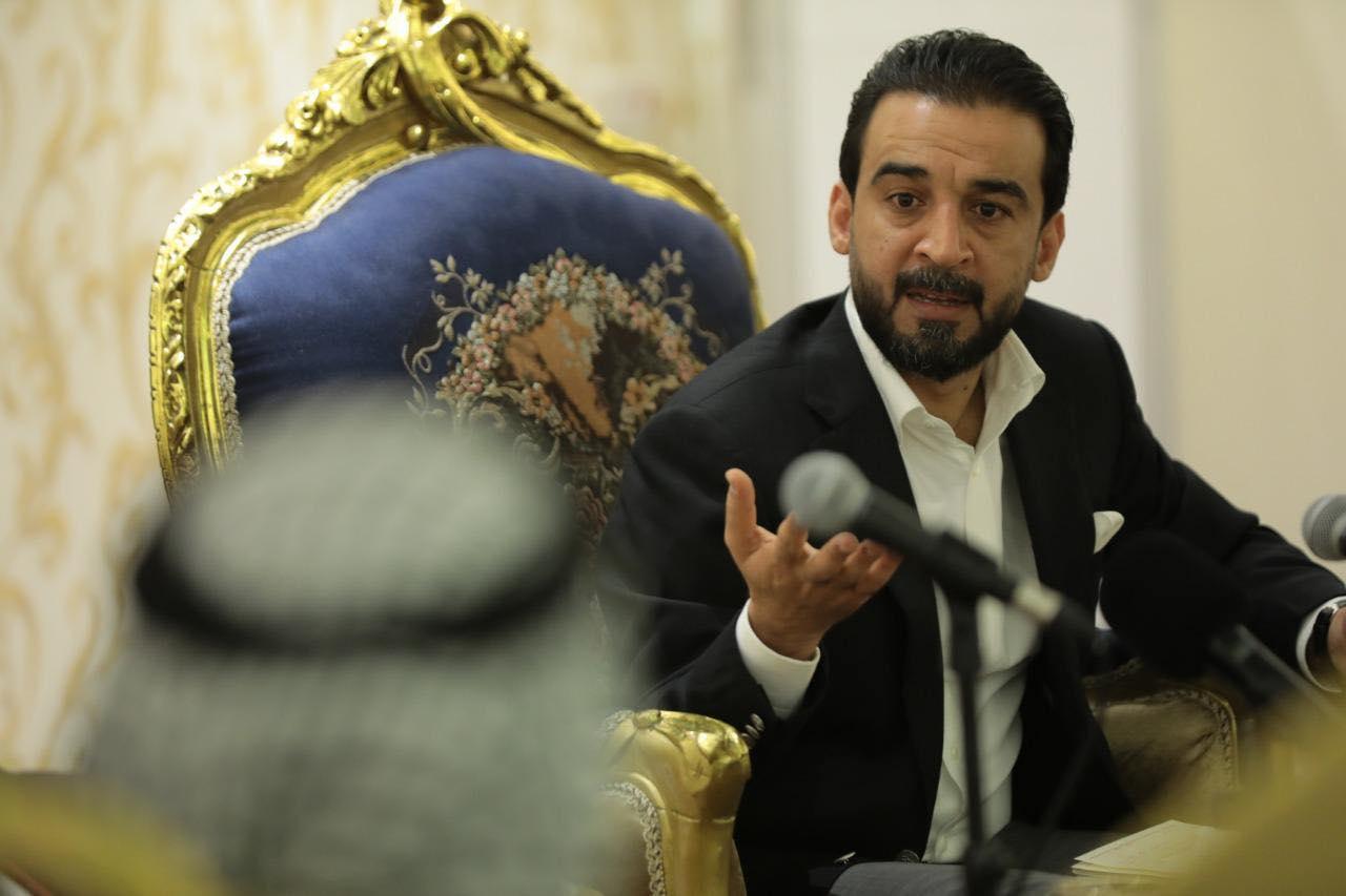 الحلبوسي لوجهاء أبو غريب: ضرورة عدم تدخل العشائر في القانون