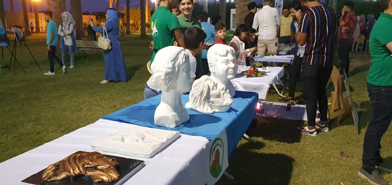 """وحي القلم الأول: مهرجان ثقافي متنوع بإدارة """"بنات ميسان"""" (صور)"""