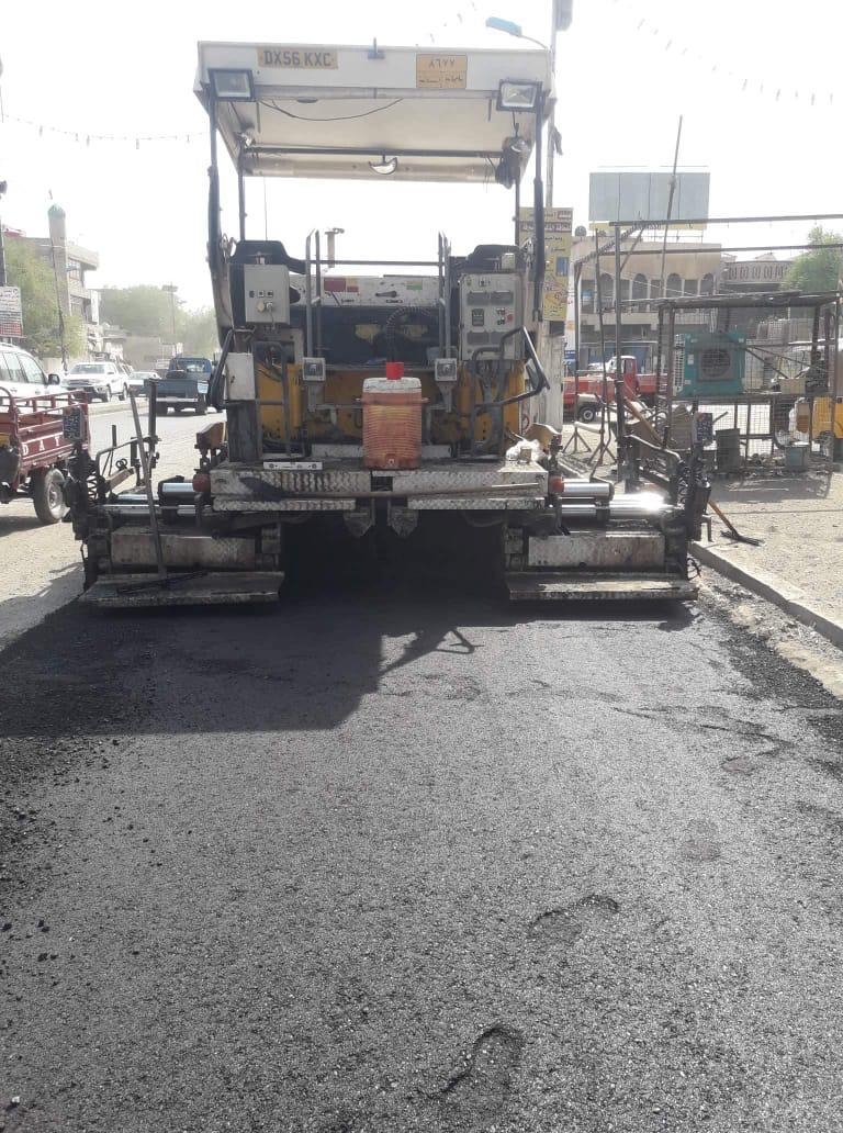 أمانة بغداد: إكساء 30 ألف متر من شوارع مدينة الصدر (صور)