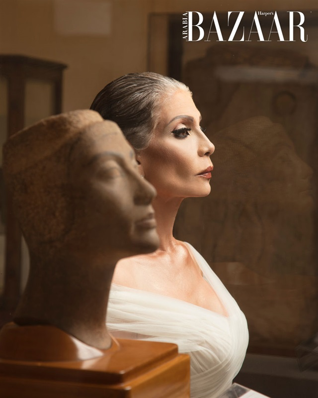 مجلة اميركية تتحدث عن سوسن بدر: غيرت مفهوم الجمال مرتين (صور)