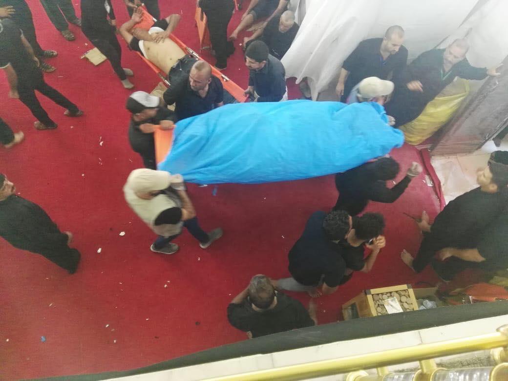 ضحايا أثناء زيارة عاشوراء في كربلاء.. وأنباء متضاربة عن الأسباب (فيديو)