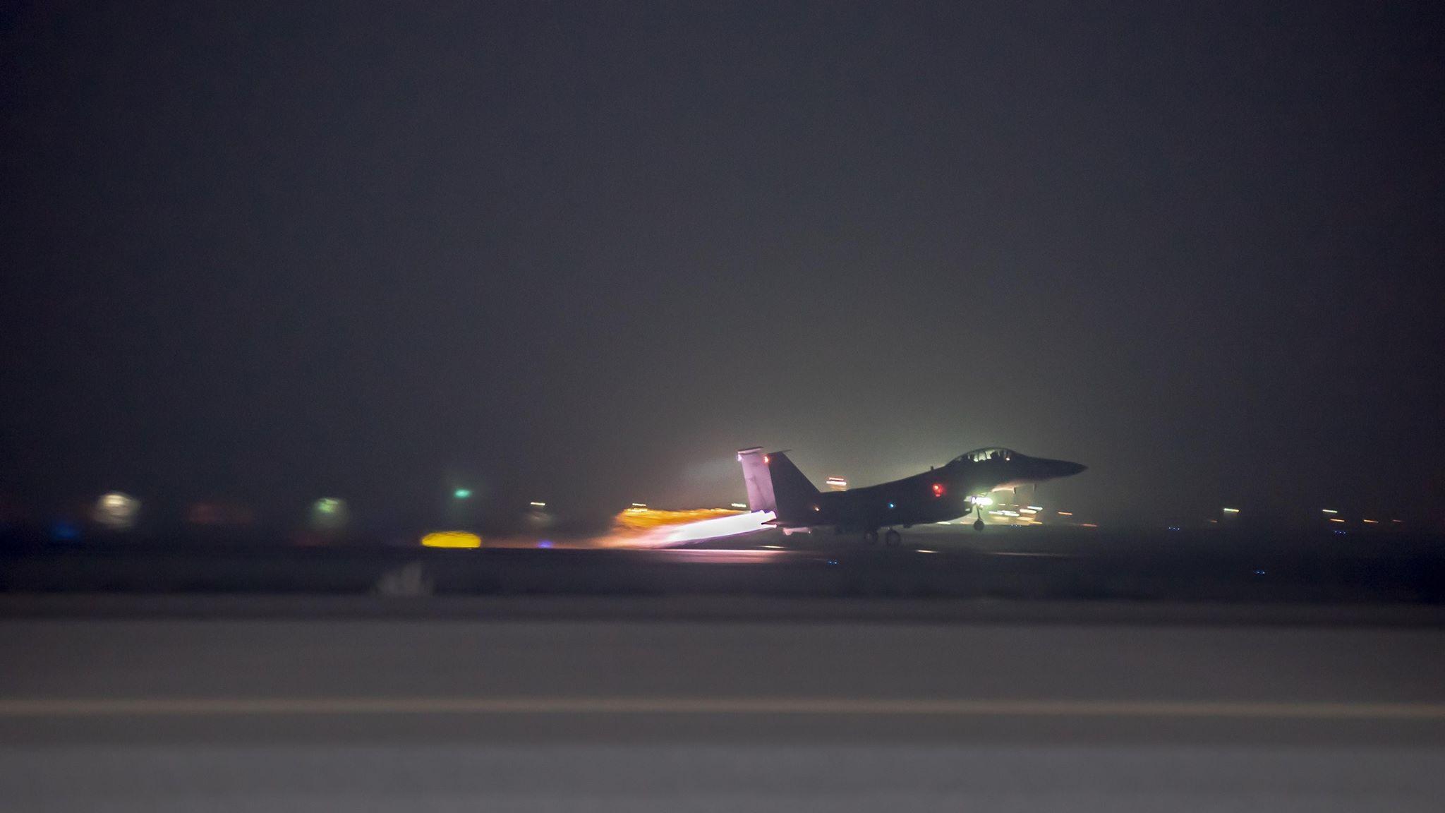 """بيان التحالف الدولي بشأن الغارات المكثفة على ملاذات """"داعش"""" في صلاح الدين"""