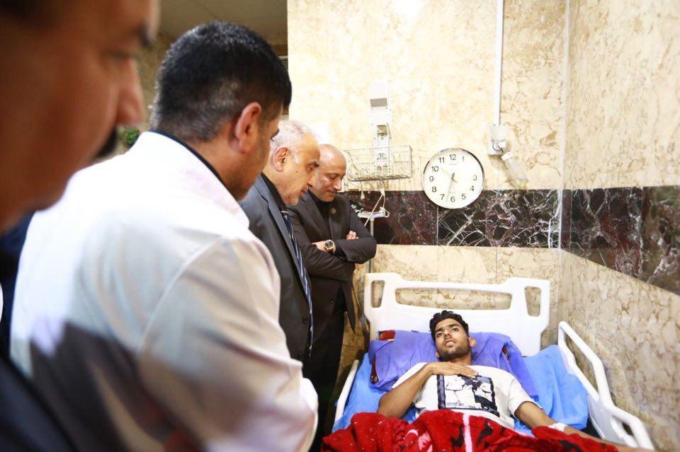 رئيس الوزراء عادل عبدالمهدي يصل إلى محافظة كربلاء